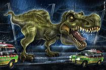 Jurassic Park- Caricature von Renan Lima