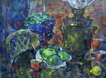 Samovar And Apples von Ivan Filichev