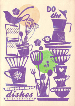 Do-the-dishes-vintage