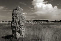 Menhirs of Lagatjar in Brittany von RicardMN Photography
