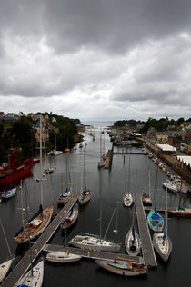 Port Rhu downstream - Douarnenez von RicardMN Photography