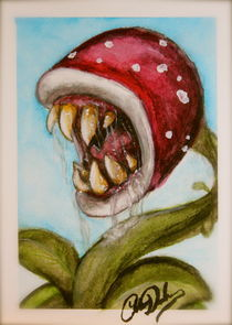 Man-eating plant by Colleen Duschen