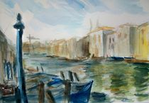 Canale Grande by Ellen Fasthuber-Huemer