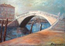 Brücke in Chioggia by Ellen Fasthuber-Huemer