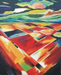 Colorful earth von Lalit Kumar Jain