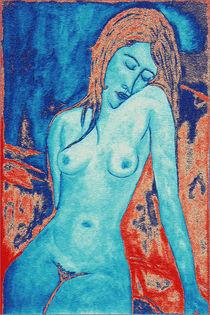 Blue Nude III von Igor Shrayer