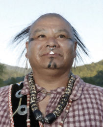 Native American Portrait 22 by zacharie