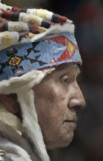 Native American Portrait 14 by zacharie