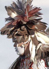 Native American Portrait 05 by zacharie