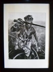 African Warrior von Kathleen Fitzpatrick