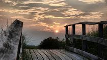 Walkway Sunset-USA by Nancie Martin DeMellia