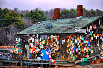 House Buoys of color-USA by Nancie Martin DeMellia