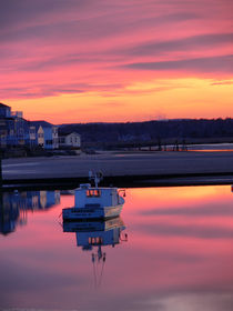Pink Sunset-USA by Nancie Martin DeMellia