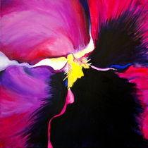 Painting of a Purple Pansy von Niki Arden