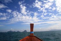 Thailand Longtailboat by Julia  Berger