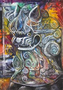Chinese Lion von Patricia Allingham Carlson