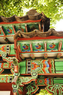 Detail of traditional Korean Architecture.