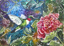 Hummingbird by Patricia Allingham Carlson