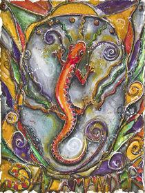 Fire Salamander by Patricia Allingham Carlson