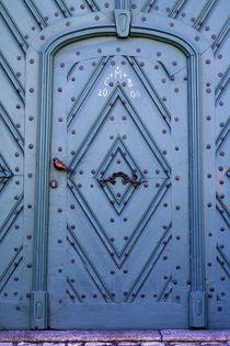 Blue door by Miroslava Andric