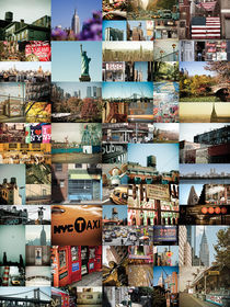 NEW YORK CITY MONTAGE 2 by Darren Martin