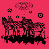 Animals Zebras by Adriana Schiavon