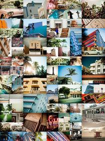 MIAMI FLORIDA MONTAGE by Darren Martin
