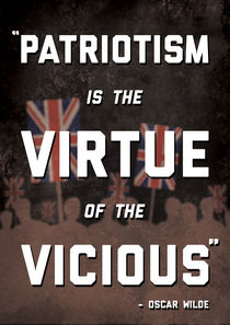 Patriotism Poster von Charlie Barber