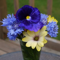 Summer Bouquet-Flowers-USA by Nancie Martin DeMellia