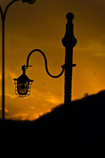 The Solitary Lampost by Samar Jha