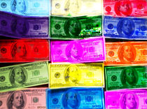 colored money
