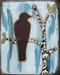 Distressed Crow von Sunny Christensen
