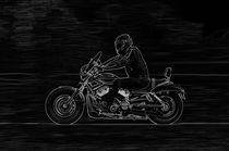 Glowing rider by holka