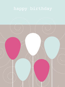 birthday balloons von thomasdesign
