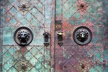 Door with patina by Miroslava Andric