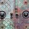 Door-with-patina