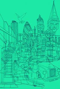 London! Mint von David Bushell