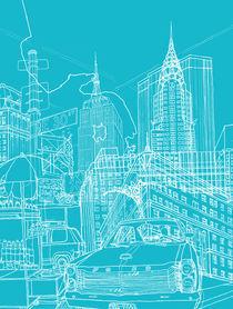 New York! Blueprint by David Bushell