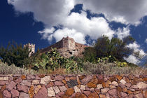 Wall, fortress, sky by Miroslava Andric
