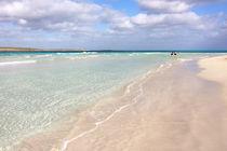 White sandy beach by Miroslava Andric