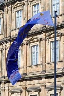 Blue flag by Miroslava Andric