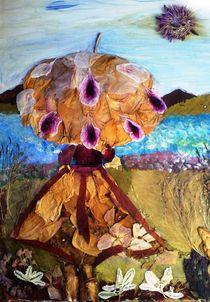 Under umbrella shadow by Irena Kosanovic