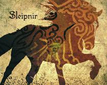Odins Pferd, Sleipnir by Kristjan Karlsson