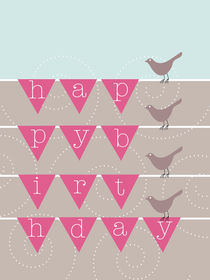 birthday birds by thomasdesign