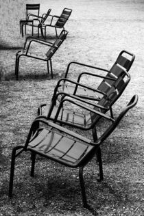 Luxembourg garden chairs, France by Katia Boitsova-Hošek
