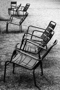 Luxembourg garden chairs, France von Katia Boitsova-Hošek
