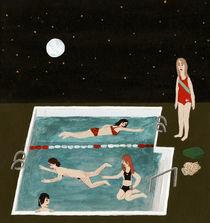 Nightswimming by Angela Dalinger