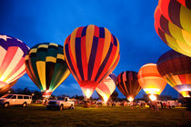 Balloon Glow - Hot Air Balloons von Michael Kloth