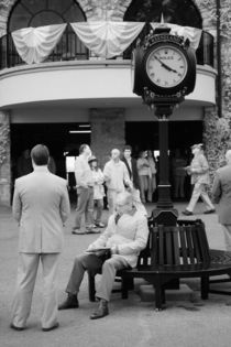 Between Races at Keeneland by Michael Kloth