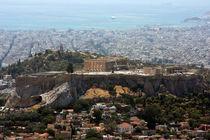Acropolis seen from Lykavittos hill